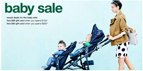 Target Free Gift Card Offers - target free 20 40 gift card with baby purchase ergobaby deals the savvy bump