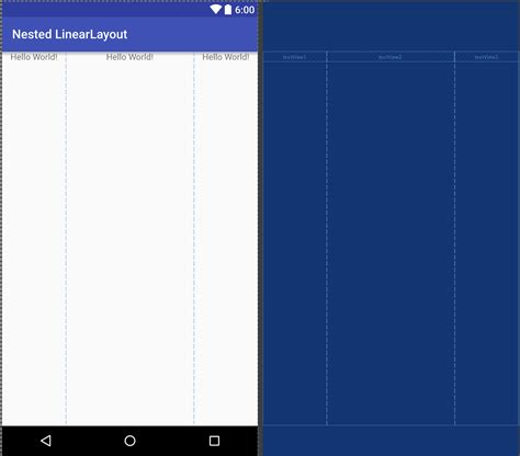 android linearlayout layout weight exle constraintlayout part 6 styling android