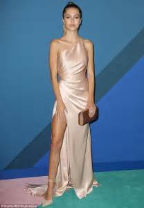 rose gold bentley real housewives delilah belle hamlin displays lean legs in a satin gown