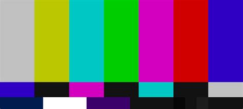 tv test pattern australia the origin of colour bars on tv and other standard test