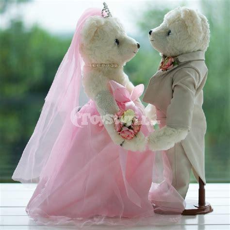 wedding bears wedding gifts wedding dress teddy 35cm tw01728