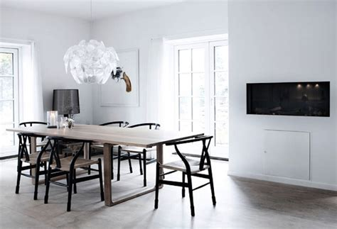 Wishbone Chairs By Famous Danish Designer Hans Wegner