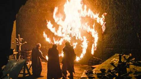 game  thrones  night kings creepy fire spiral