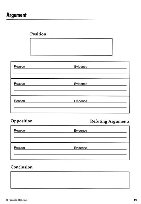 Argumentative Essay Graphic Organizer by 17 Best Images About Argument Graphic Organizers On Paper Persuasive Essays And