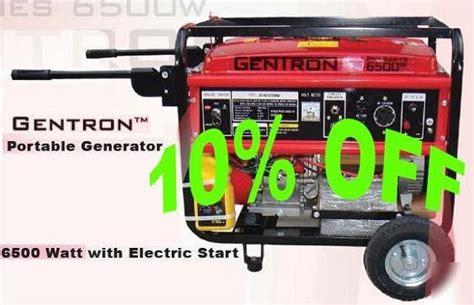Generator Genset 6500 Watt Lpg Listrik Lu Silent Taikan Genset Watt de reis met de auto gentron 6500 watt diesel generator