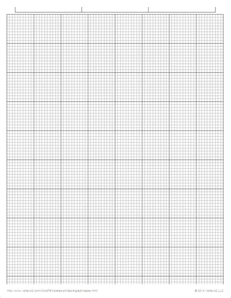 printable graph paper pdf printable graph paper templates for word