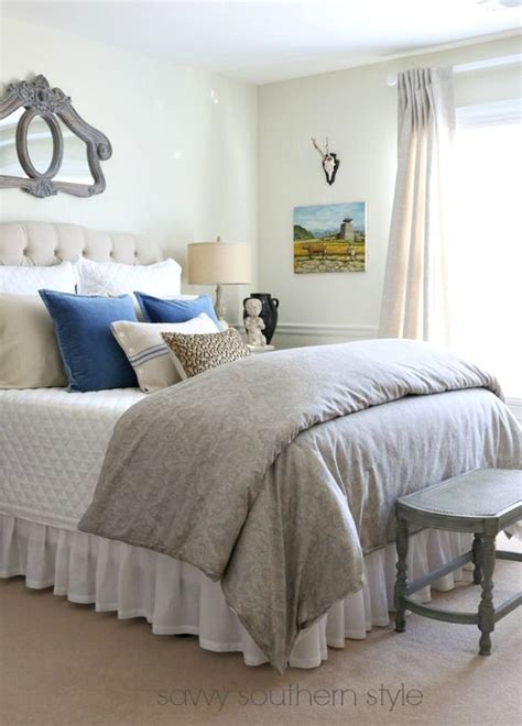 blue french bedroom gorgeous farmhouse style bedroom with french blue and grey