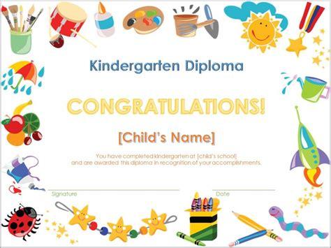 Kindergarten Diploma Template Pre K Diploma Template Pre K Graduation Diploma Template