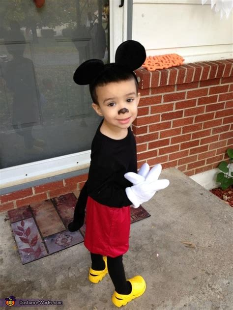 mickey mouse costume photo