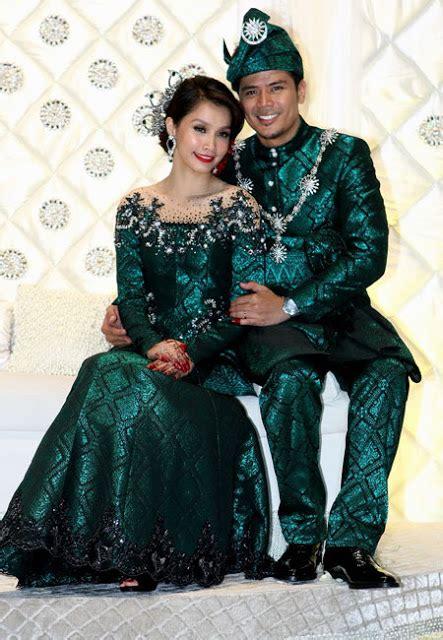 Baju Nikah Scha Alyahya jom lihat busana tradisional pengantin di serata dunia serius cantik wanista