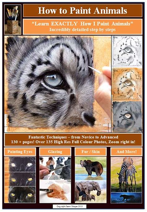 how to paint index of misc images how to paint animals