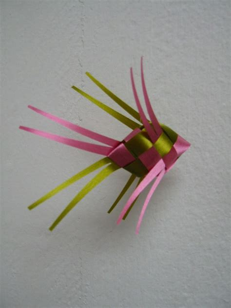 Origami Ribbon Fish - 13 best images about hanging mobile ideas on