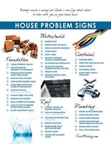 moving part 3 problems to look for when buying a house checklist house mix