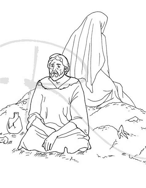 coloring page for job job bible coloring pages coloring pages