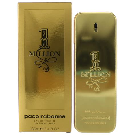 Paco Rabanne One Million 1115 by 1 Million Cologne By Paco Rabanne 3 4 Oz Edt Spray For