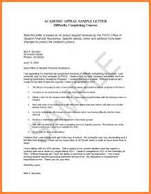 Financial Aid Suspension Appeal Letter Template by 9 Academic Suspension Appeal Letter Appeal Letter 2017