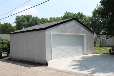 Garage Builders Mn by St Paul Stucco Garages Stucco Garage Builders Mn