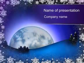 winter templates free winter powerpoint template for