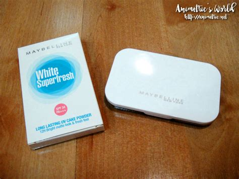 Maybelline White Fresh maybelline white superfresh powder foundation review