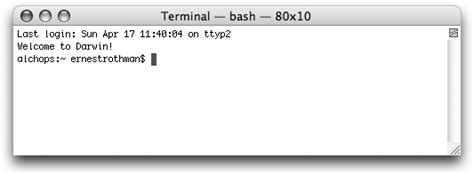 Mac Os X Tiger For Unix Geeks 1 inside the terminal mac os x tiger for unix geeks