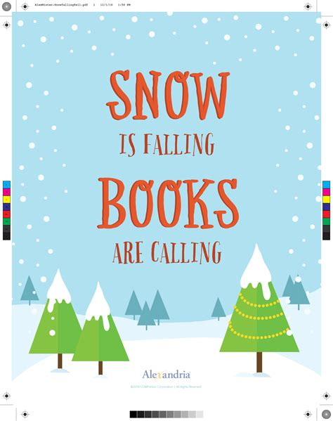 winter calling books winter reading posters for your library alexandria