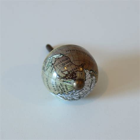 Decorative Door Knobs Uk by Set Of 4 Map Of The World Decorative Drawer Handles