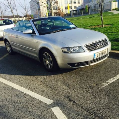 2003 audi a4 sale 2003 audi a4 for sale for sale in swords dublin from erwin
