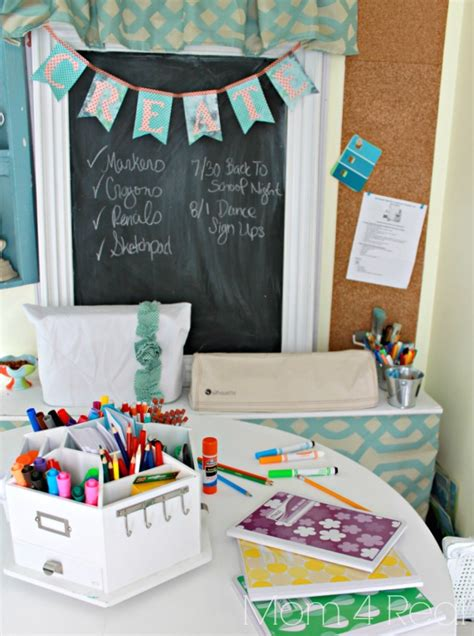 homework station ideas pitterandglink back to school week 20 awesome back to school ideas