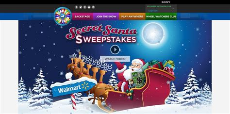 How To Enter Wheel Of Fortune Secret Santa Sweepstakes - wheel of fortune sears secret santa spin id sweepstakes