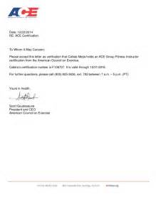 Certification Letter Of Confirmation Ace Gfi Certification Letter Dec 2014
