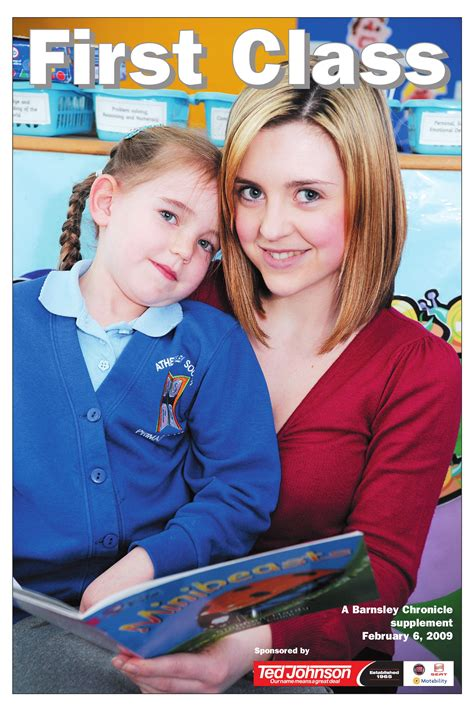 6th supplement of clcss class february 6th 2009 by barnsley chronicle