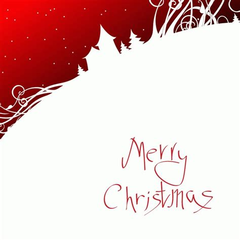 simple christmas card vector vector images free vector