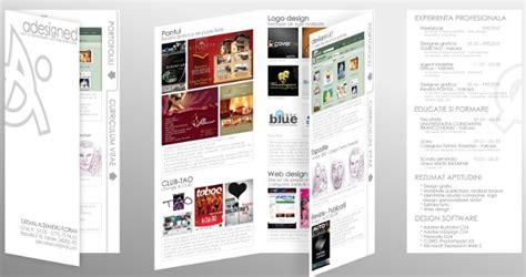 Réaliser Un Cv by Resume Format Cv Sous Forme De Brochure