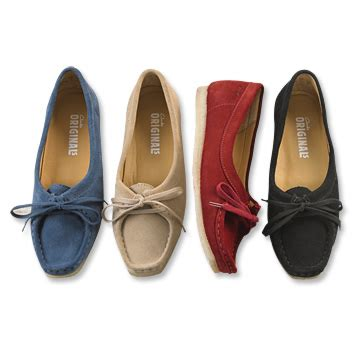 clarks wallabee shoes  women clarks original wallabee shoes orvis