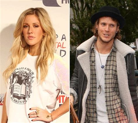 are ellie goulding and dougie poynter dating ok magazine mcbusted s dougie poynter reveals he s just friends with