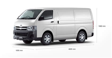 Toyota Hiace Measurements Toyota Hiace 30d Picture 6 Reviews News Specs Buy Car