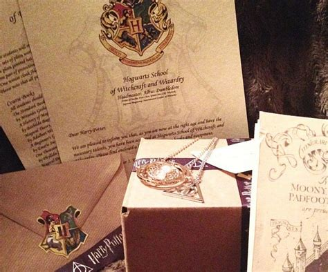 Harry Potter Acceptance Letter Gift Uk Harry Potter Gifts