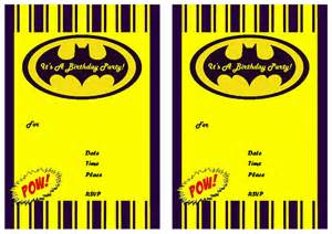 batman invitation template 9 awesome batman birthday invitations baby