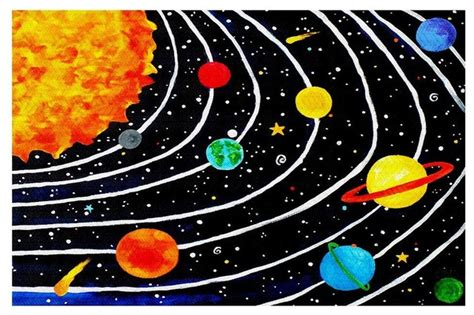 solar system rugs solar system iv area rug small 2 x 3 contemporary rugs by dianoche designs