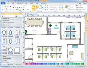 layout software office layout floor plan solutions