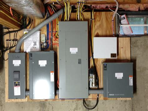 installation of a 20kw kohler standby by generator with a