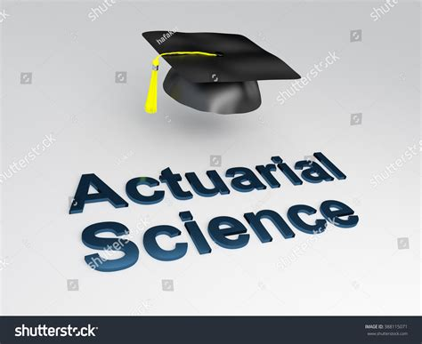 Mba Or Actuarial Science by Render Illustration Actuarial Science Script Stock