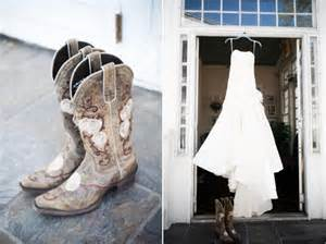 cowboy boots for wedding dresses cotton themed wedding rustic elegance the magazine