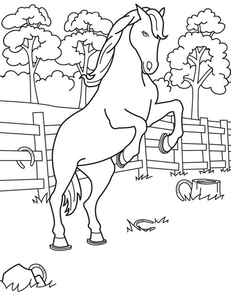 free coloring pages of shire horse