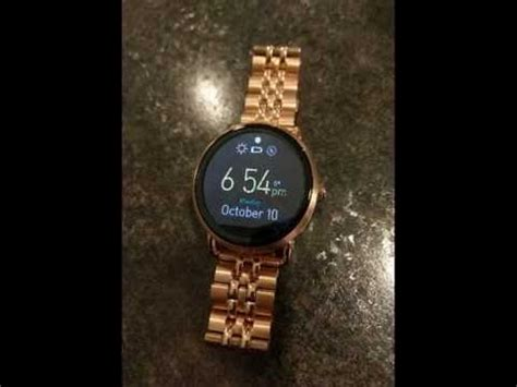 fossil q wander review