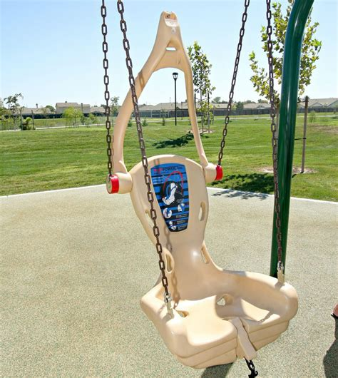 ada swing accessible playground equipment little tikes outdoor