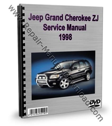 service repair manual free download 1998 jeep cherokee security system jeep grand cherokee zj 1998 service repair manual download downlo