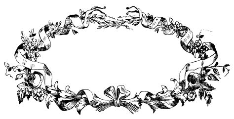 gorgeous vintage french frame images 4 options the