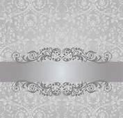 Free EPS  Floral Damask Vintage Invitation Background Vector 02