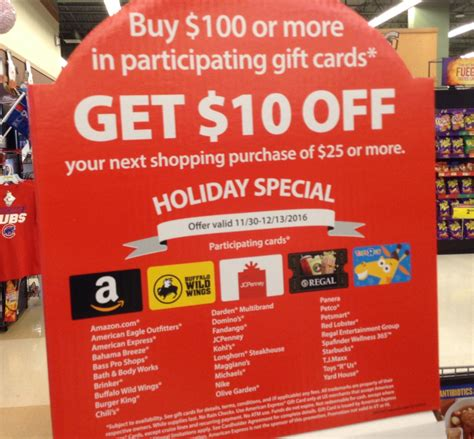 Jewel Gift Cards - jewel osco 100 10 gift card deal through 12 13 16 jill cataldo